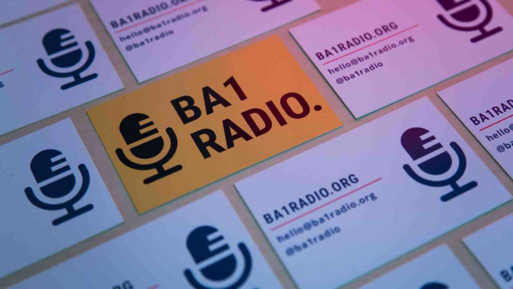 BA1 Radio business cards