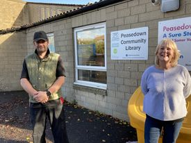 New, extended opening hours at Peasedown Community Library