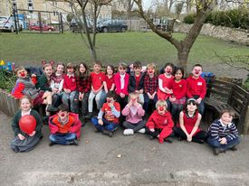 Somerset schools raise over £200 for Red Nose Day