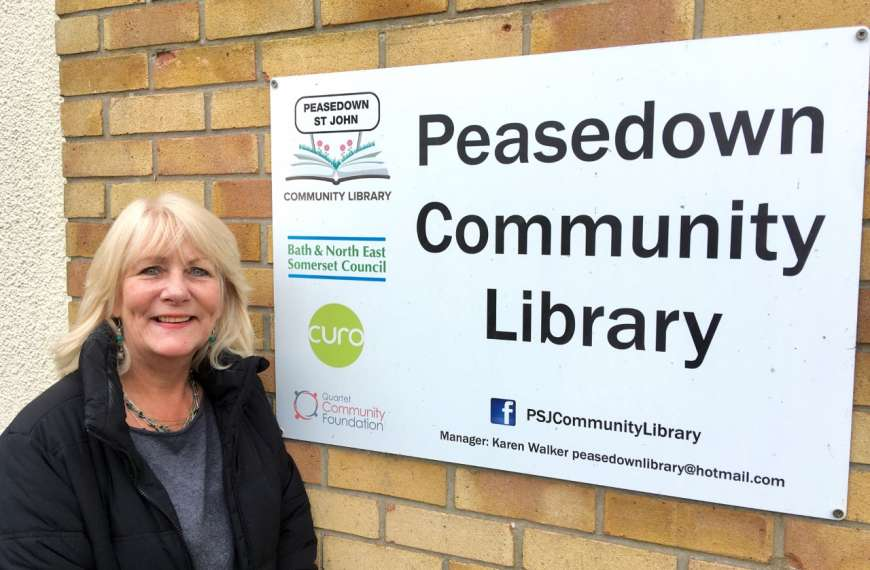 New volunteering opportunities at Peasedown Community Library