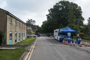 Wiltshire College students line up for Covid-19 vaccine ahead of new academic year